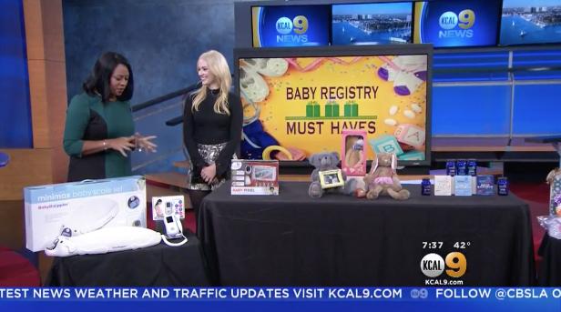 CBS LA: Baby Registry Must-Haves Millennial Mom