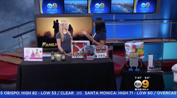 CBS LA: Family Bonding Activities Millennial Mom