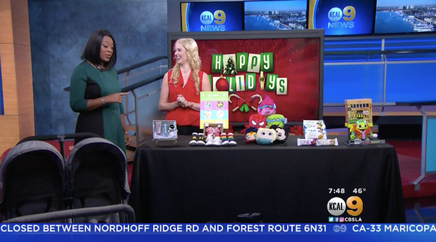 CBS LA: Holiday Wishlist Millennial Mom