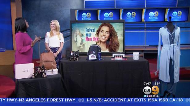 CBS LA: Refresh Your Mom Style Millennial Mom