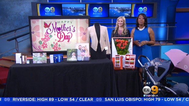 CBS: Mother's Day Gifts Millennial Mom
