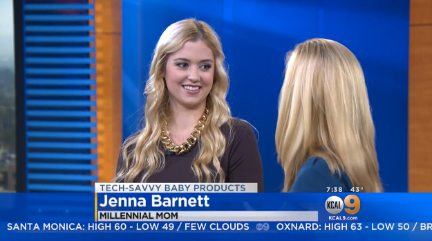 CBS: Tech-Savvy Baby Products Millennial Mom