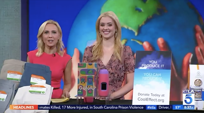 KTLA: Earth Day Products Millennial Mom