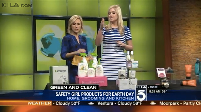 KTLA: Earth Day Millennial Mom