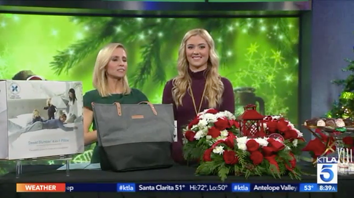 KTLA: Holiday Gifts Millennial Mom