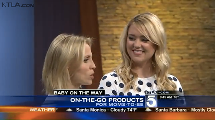 KTLA: Mom-To-Be Must-Haves Millennial Mom
