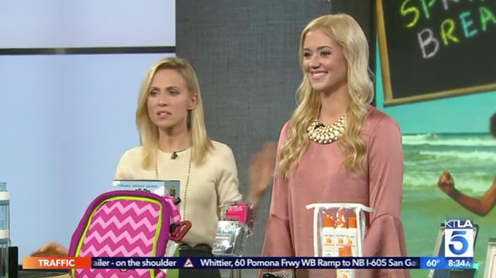 KTLA: Spring Break Essentials Millennial Mom
