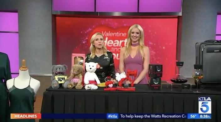 KTLA: Valentine's Day Gift Ideas Millennial Mom