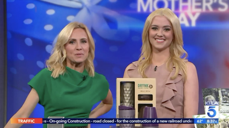 KTLA: Mother's Day Gift Ideas Millennial Mom