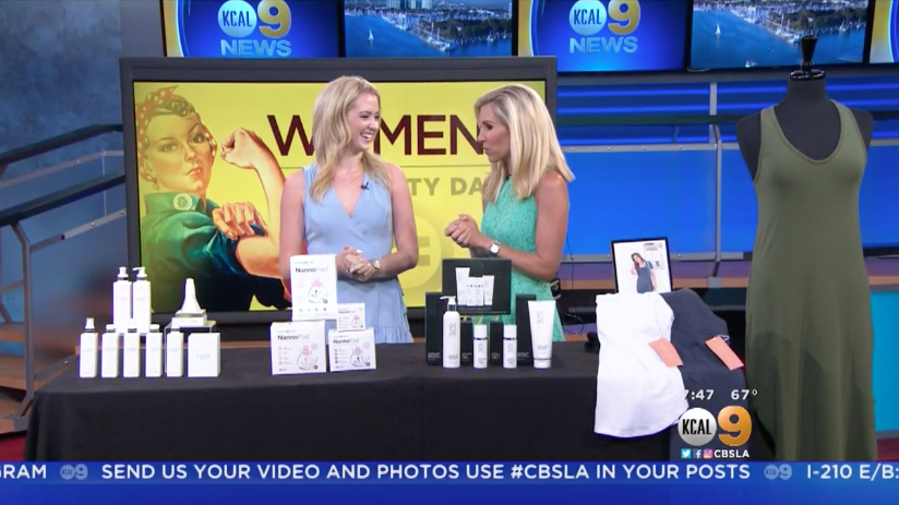 KCAL: Women-Founded Brands for Women's Equality Day Millennial Mom