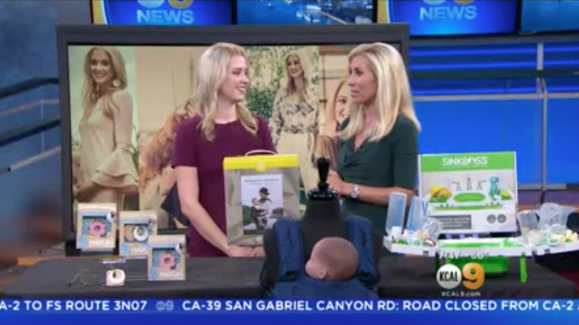 KCAL: Baby Safety Month Millennial Mom
