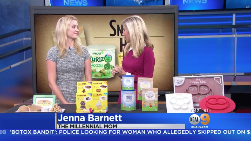 KCAL: Snack Hacks for Picky Toddlers & Kids Millennial Mom