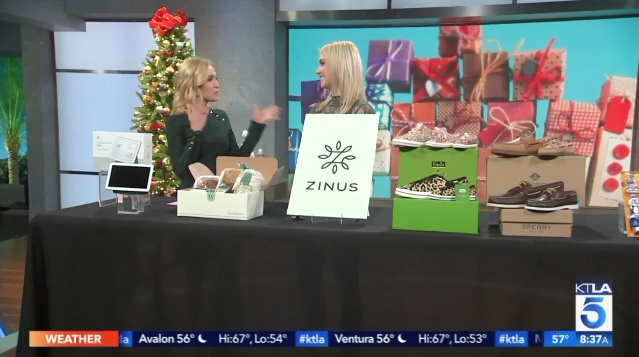 KTLA: Holiday Gifts for the Whole Family Millennial Mom