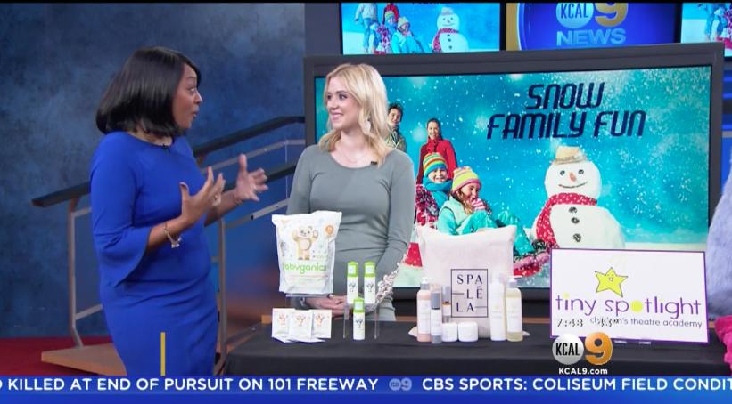 KCAL: Winter Family Fun Millennial Mom