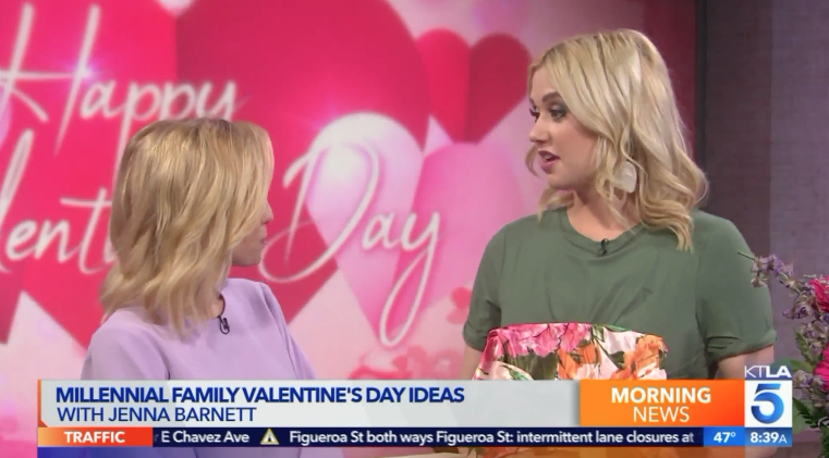 KTLA: Family Valentine's Day Gifts Millennial Mom