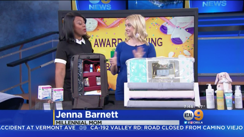 KCAL: Award-Winning Baby Products Millennial Mom