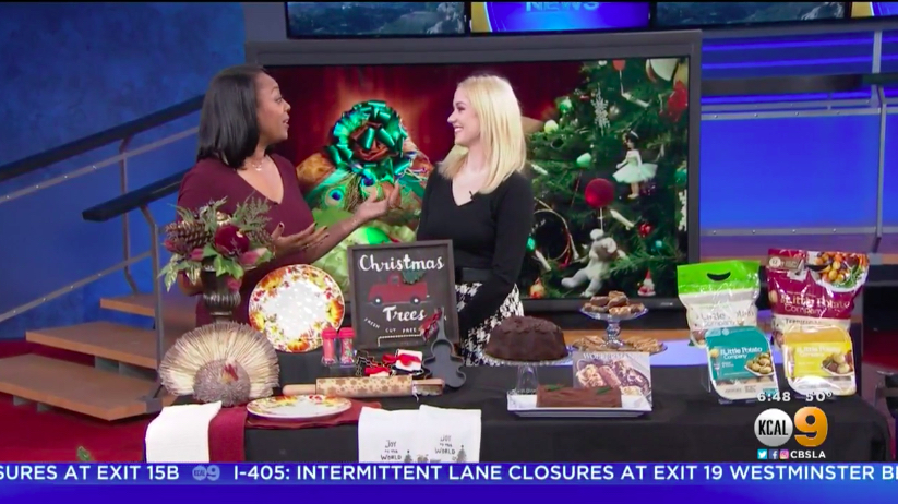 KCAL: Holiday Prep with Millennial Mom Millennial Mom